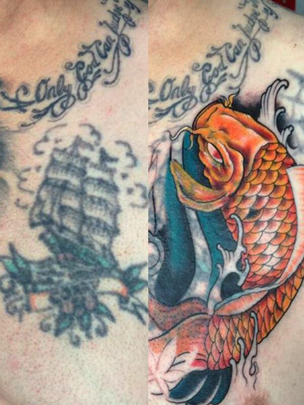 Cover Up Tattoo Laten Zetten Lees De Betekenis Info En Tips