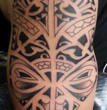 Polynesian tattoo door Dutchink