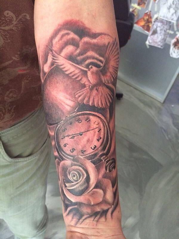 Krachtige Teksten Tattoo Sleeves