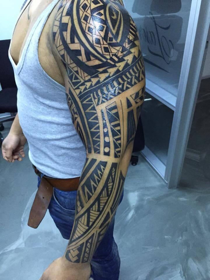 Populair Maori tattoo laten zetten? Uitleg over de betekenis en stijl! CJ67