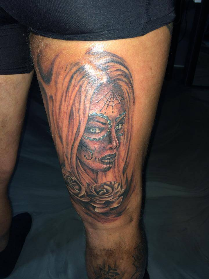 Bovenbeen Tattoo Voorbeelden Laat Je Inspireren Door Dutch Ink