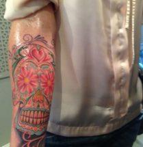 Chicano op onderarm