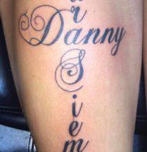 Danny Para Siempre bovenbeen