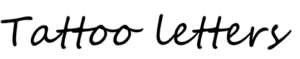tattoo-letters-segoeScript