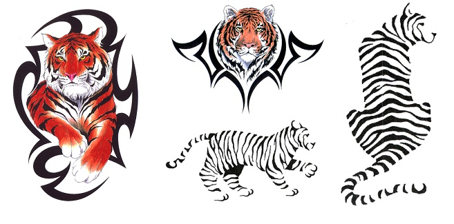 tijger tattoo tribal tattoos