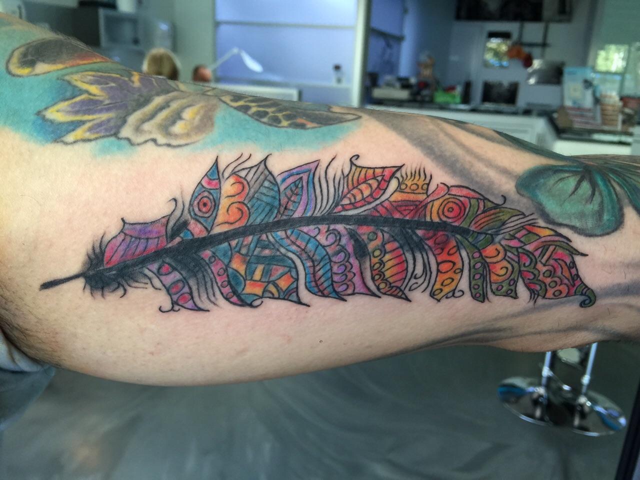 tatoeage veer