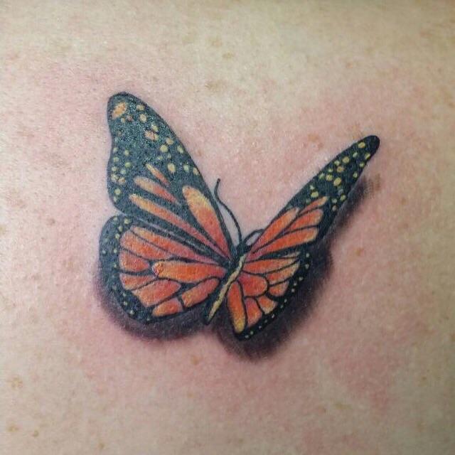 Vlinder tattoo voorbeelden laat je inspireren door dutch ink for Virtual tattoo workshop