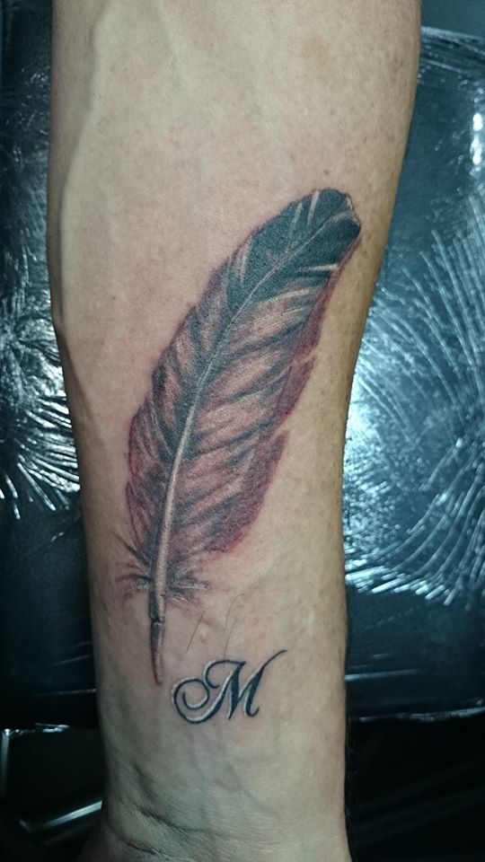 Indianen veren tattoos
