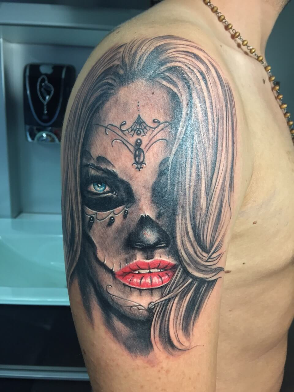Tattoo Gezicht Vrouw Tatoeëren