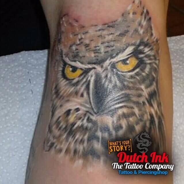 Dieren tattoo voorbeelden laat je inspireren door dutch ink for Virtual tattoo workshop
