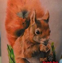 Realistsche eekhoorn