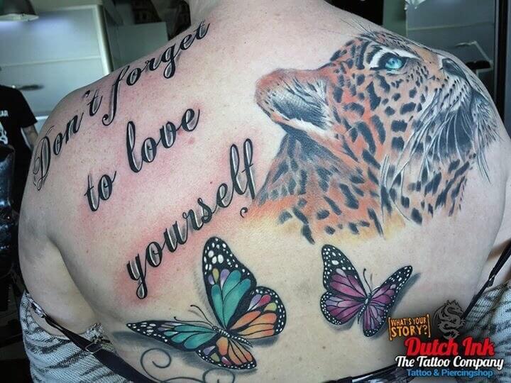 Vlinder Tattoo Voorbeelden Laat Je Inspireren Door Dutch Ink