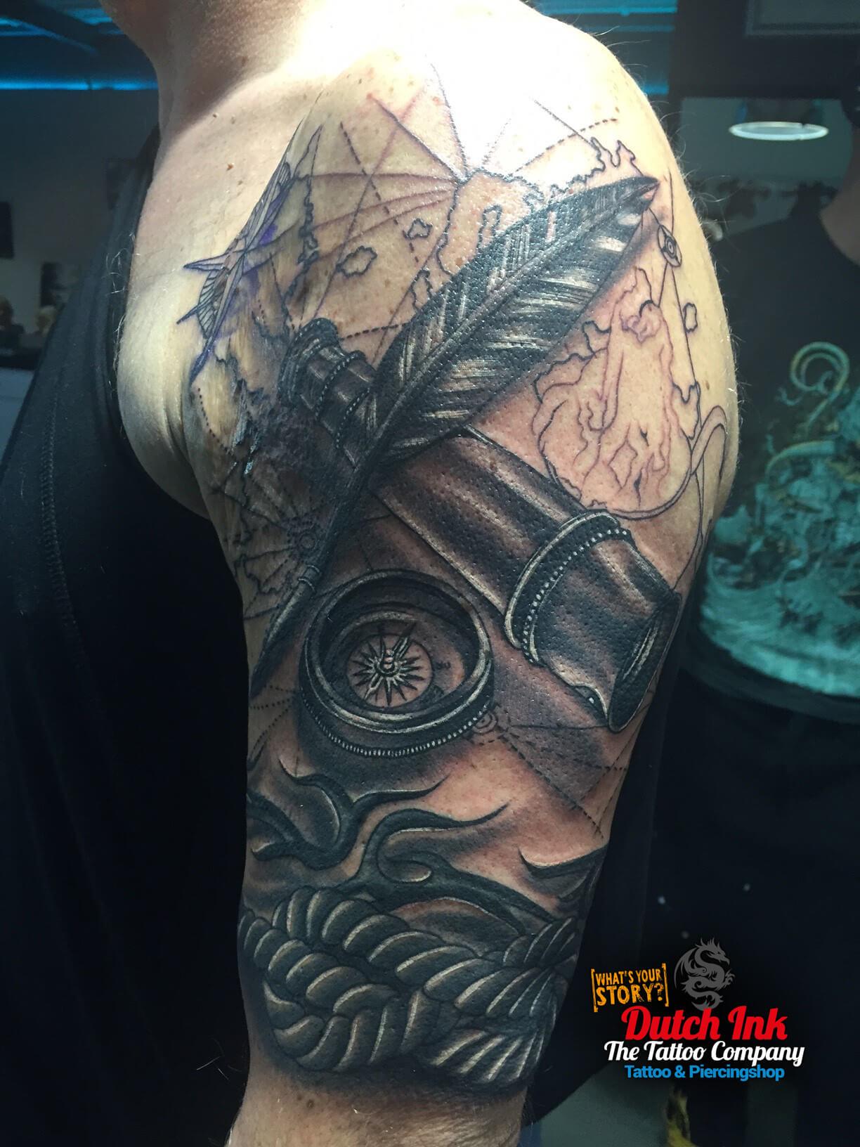 Veer tattoo voorbeelden laat je inspireren door dutch ink for Virtual tattoo workshop