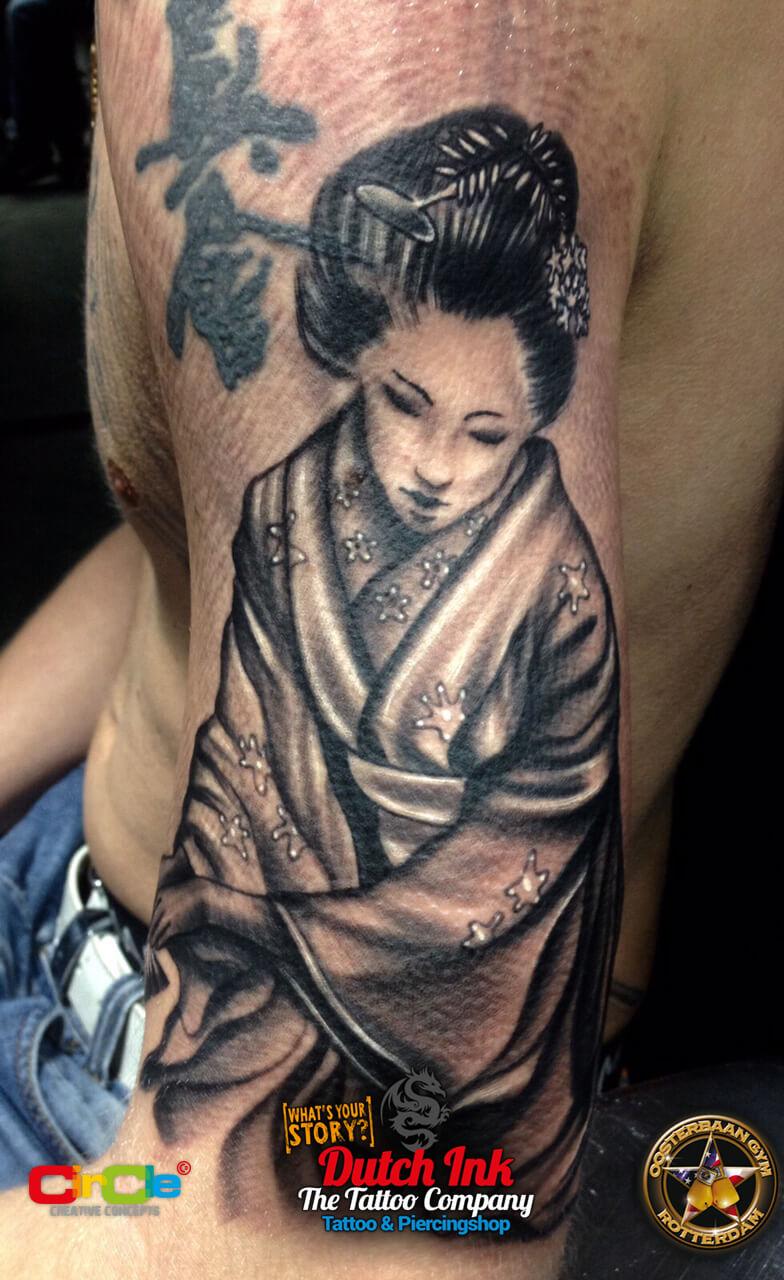 Japans chinese tattoo voorbeelden laat je inspireren for Virtual tattoo workshop