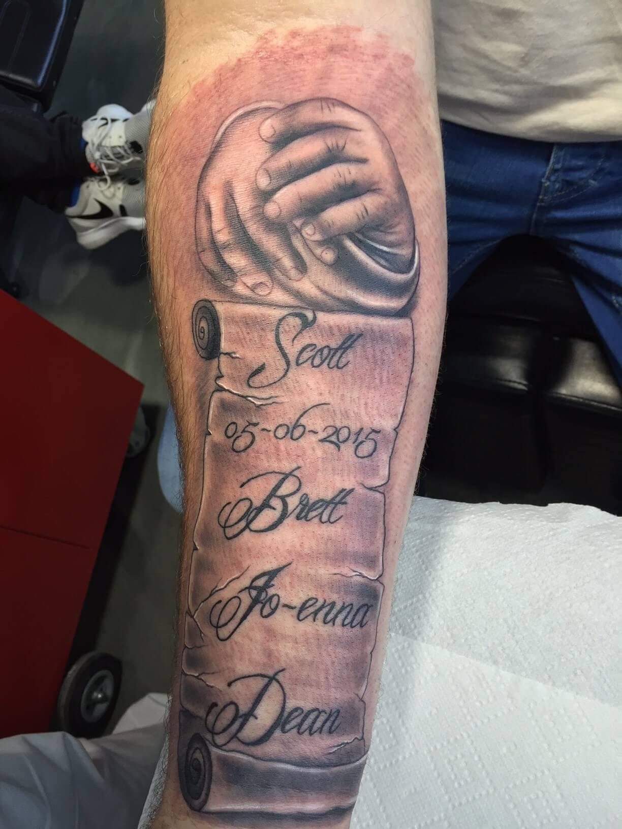 Iets Nieuws Naam tattoo voorbeelden, laat je inspireren door Dutch Ink! #RZ27