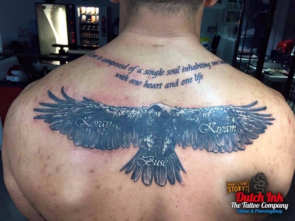 Vogel Tattoo Voorbeelden Laat Je Inspireren Door Dutch Ink