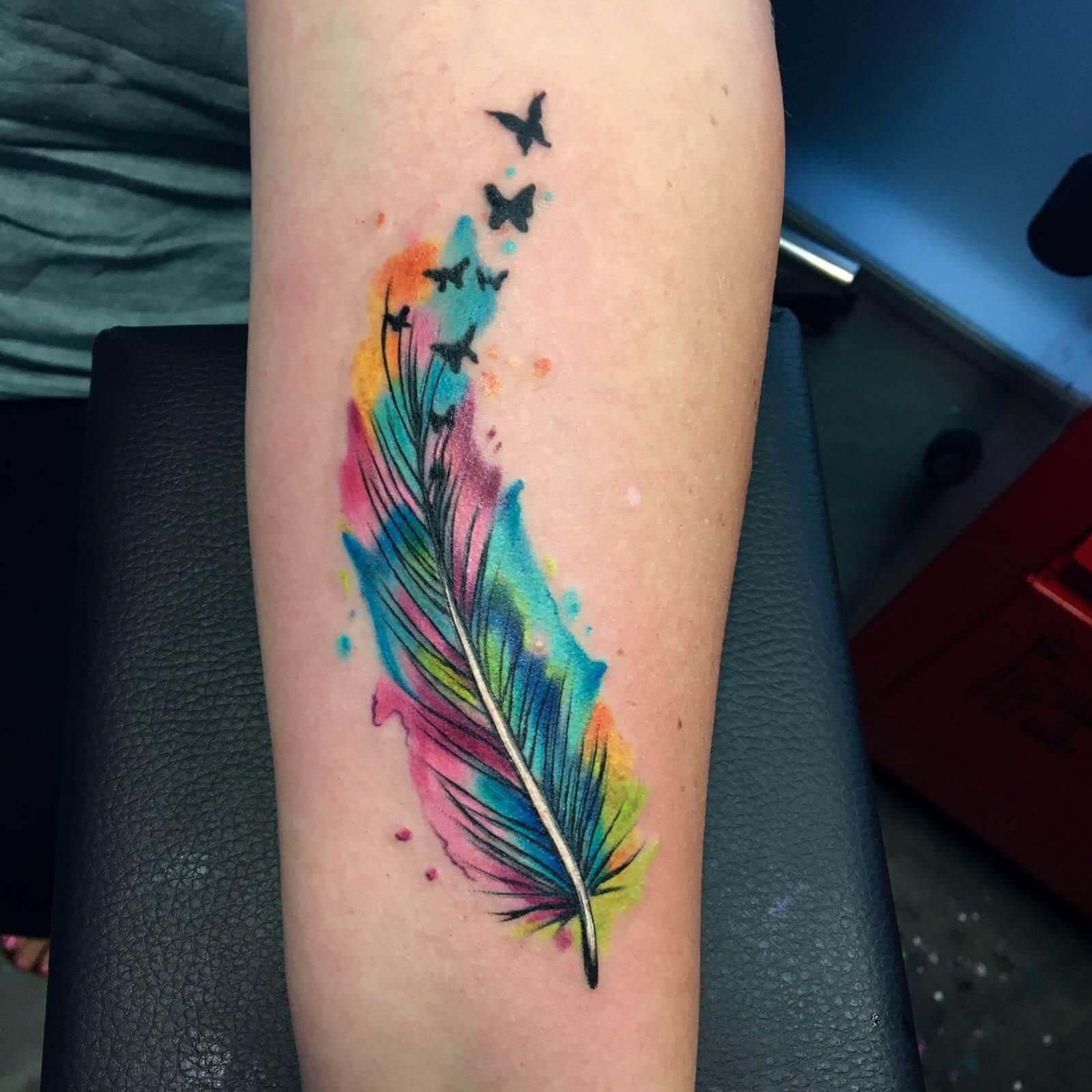 Felle Kleuren Tattoo Voorbeelden, Laat Je Inspireren Door