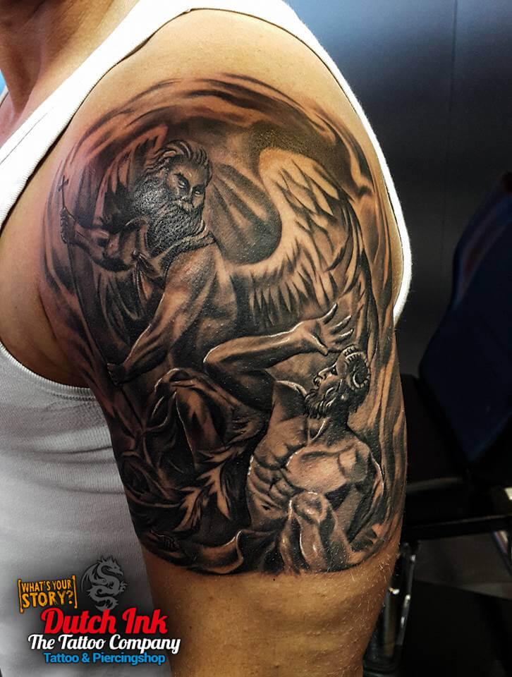 Angel Tattoo Voorbeelden Laat Je Inspireren Door Dutch Ink