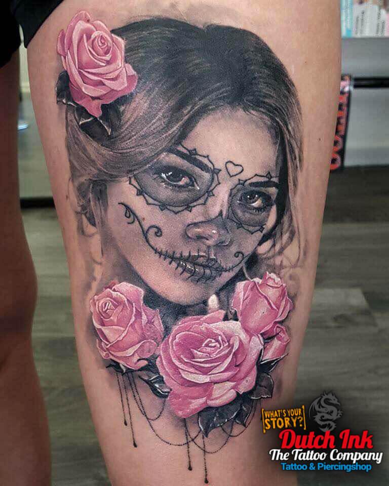 Bovenbeen Tattoo Voorbeelden, Laat Je Inspireren Door
