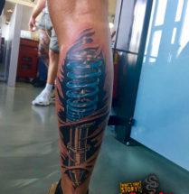 Biomechanical op onderbeen