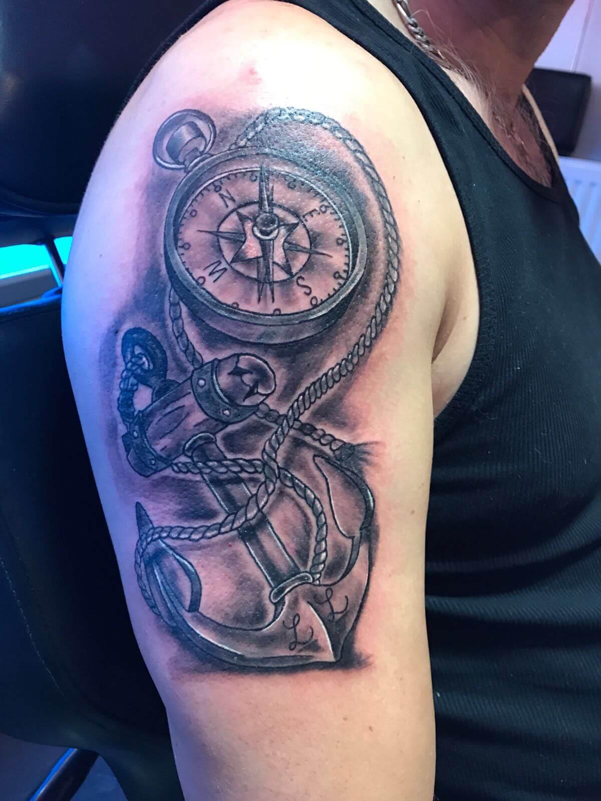 anker tattoo voorbeelden, laat je inspireren door dutch ink!