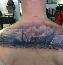 Rotterdam op rug