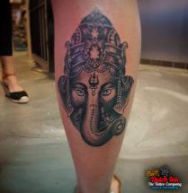 Ganesh op kuit
