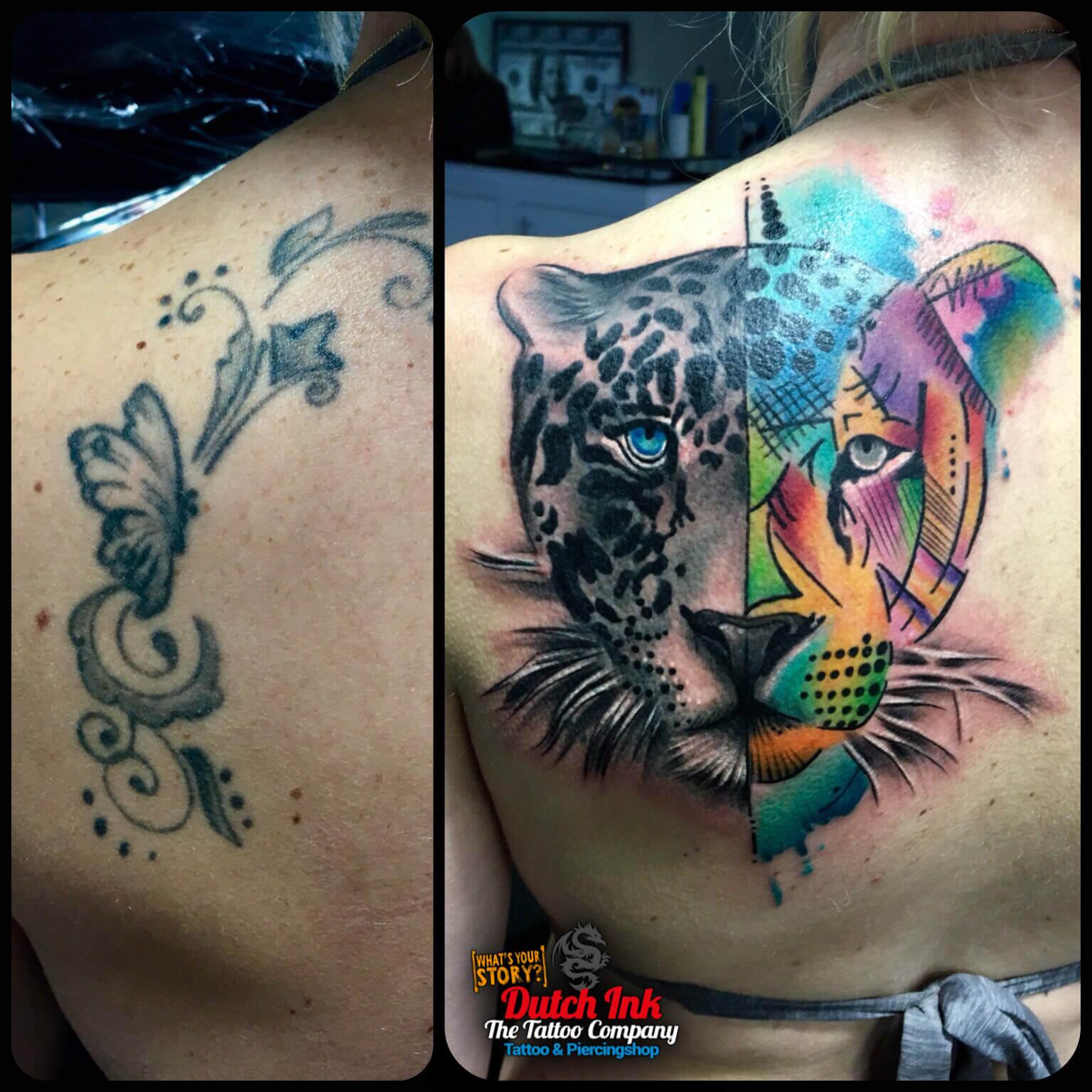Felle kleuren tattoo voorbeelden laat je inspireren door for Virtual tattoo workshop
